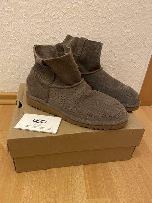 UGG Australia Slip-on Booties grey leather