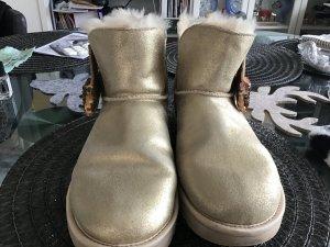 UGG Australia Low boot doré cuir