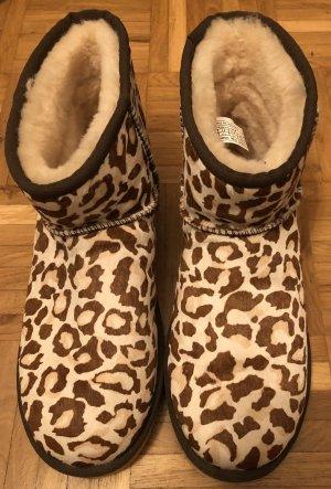 UGG Boots leopard braun/Creme Gr. 41