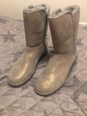 UGG Boots Metalic silver