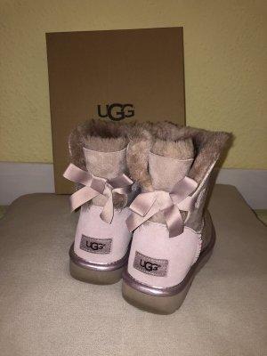Ugg Boots Mini Bailey Bow II Metallic