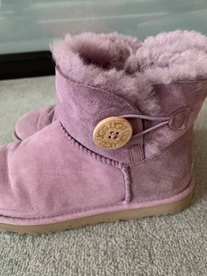 UGG Boots Mini Bailey Button II Flieder