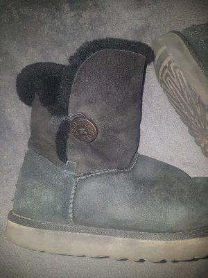 ugg boots mini tall black in 40