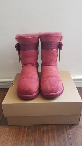 UGG Snow Boots violet-purple new wool