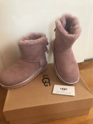 UGG Australia Bottes de neige rose cuir