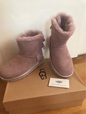 UGG Australia Sneeuwlaarzen roze Leer