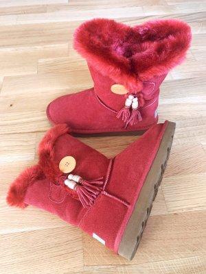 UGG Boots Rot Ungetragen