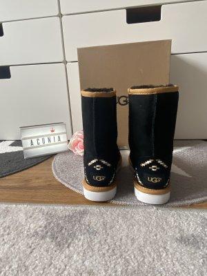 Ugg Boots schwarz braun Größe 36