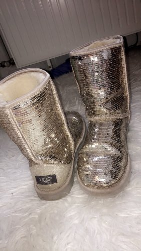 UGG Boots Silber Pailletten