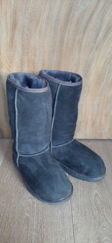 UGG boots stiefel hoch anthrazit grau gr.41 Lammfell