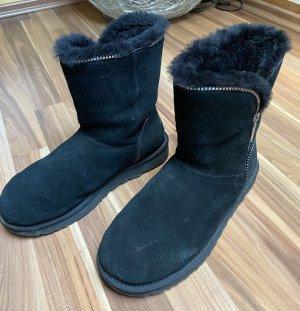 UGG Boots Stiefel ZIP schwarz 40