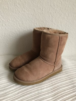 UGG Boots W Classic Short, Nude, OVP, Gr.39