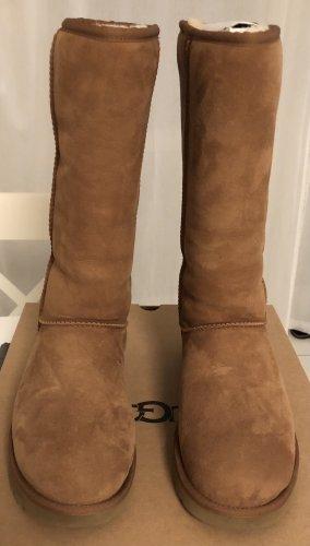 UGG Futrzane buty brązowy