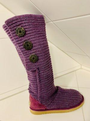 UGG Australia Laarzen met bont lila