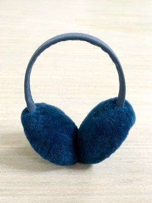 UGG Classic Lammfell-Ohrenschützer in dunkelblau