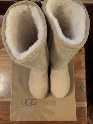 UGG Laarzen met bont zandig bruin