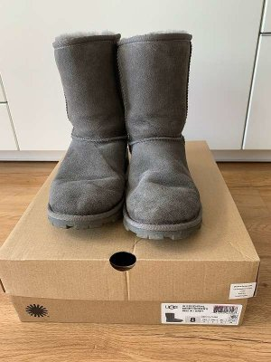 UGG Australia Cothurne gris cuir