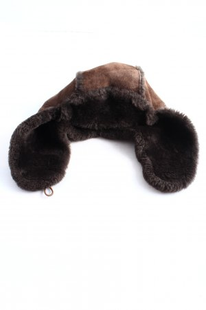 UGG Fur Hat brown casual look