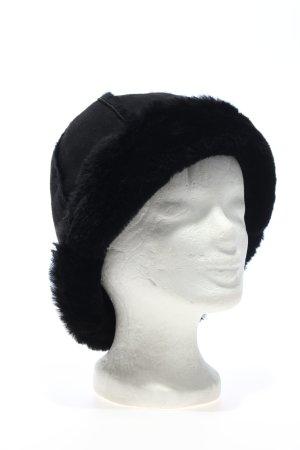 UGG Fur Hat black casual look