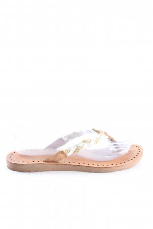 UGG Flip-Flop Sandals nude-natural white casual look
