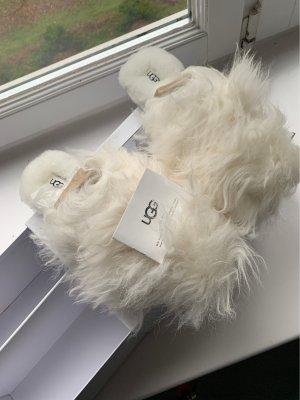 UGG Australia Pantoufles blanc laine