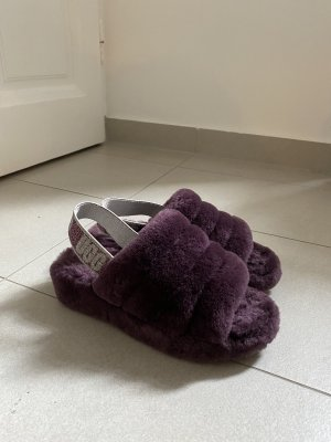 UGG Australia Sandales confort violet foncé