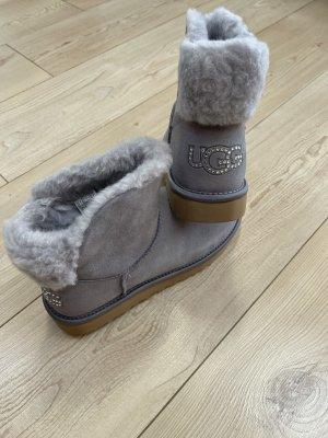 UGG Bottes de neige gris-gris clair