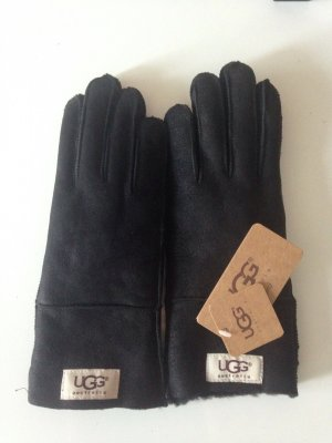UGG Australia Fur Gloves black