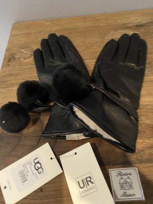 UGG Handschuhe schwarz Größe -L