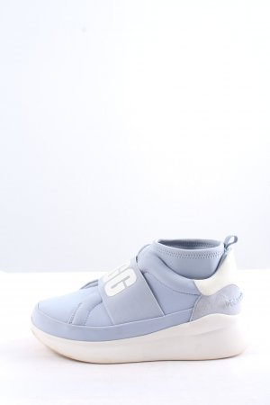 UGG High Top Sneaker blue-white casual look