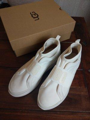 UGG High Top Sneaker weiss-wollweiss Causal-Look Letzter Preis 40,00 € !!!