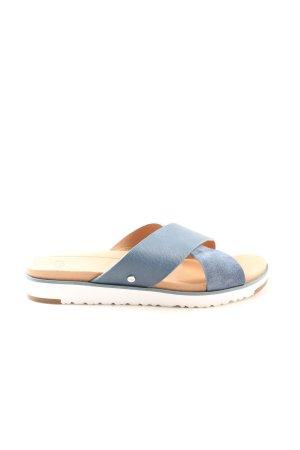 UGG Sandały plażowe niebieski W stylu casual