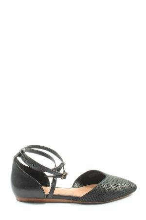 UGG Comfortabele sandalen zwart volledige print casual uitstraling