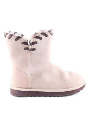 UGG Kurzstiefel pink-lila Casual-Look