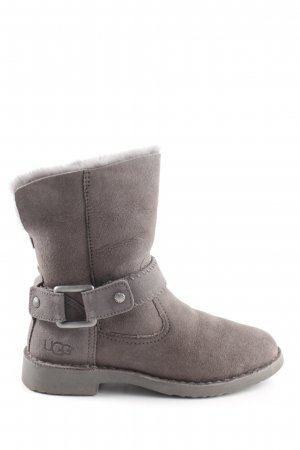UGG Short Boots light grey casual look