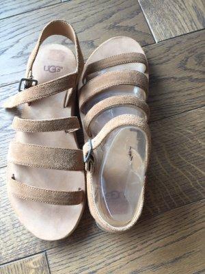 UGG Outdoor sandalen lichtbruin Leer