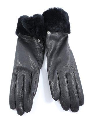 UGG Lederhandschuhe schwarz Business-Look