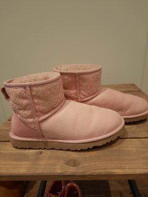 UGG-Mini Boots rosa 38