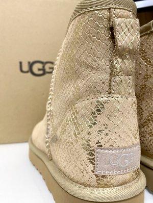 UGG Bottes de neige crème-doré