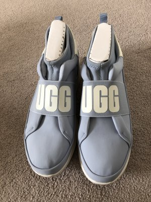 UGG High Top Sneaker white-azure mixture fibre