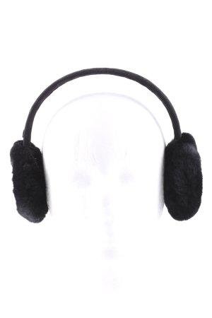 UGG Cache-oreilles noir style décontracté