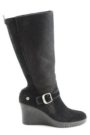 UGG Plateau-Stiefel schwarz Casual-Look