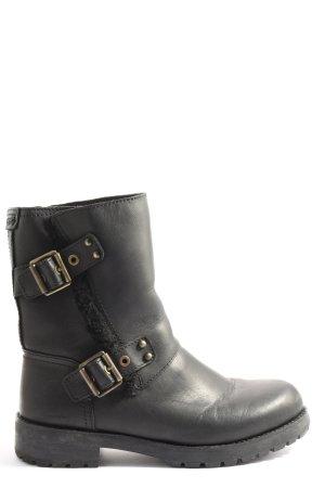 UGG Reißverschluss-Stiefeletten schwarz Casual-Look