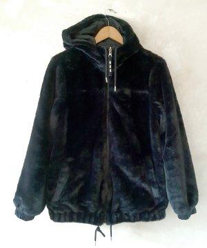 Ugg Reversable Faux Fur & Rain Jacket S New