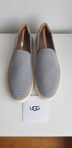 UGG Slippers silver-colored-light grey