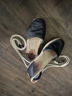 UGG Australia Beach Sandals black-oatmeal