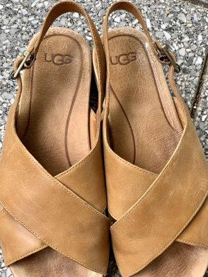 UGG Australia Comfortabele sandalen camel