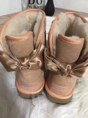 UGG Satin Bow Mini Classic Boots NEU