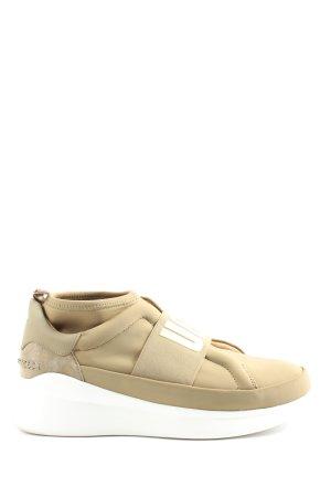 UGG Sneaker slip-on bianco sporco stile casual