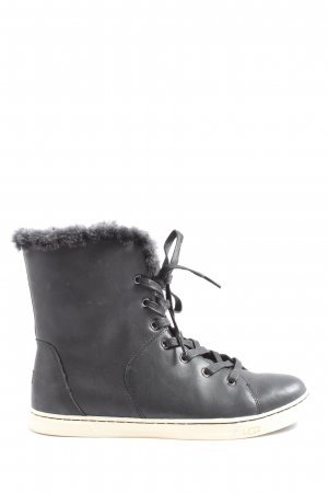 UGG Lace-up Booties black casual look